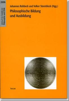 Philosophische Bildung und Ausbildung