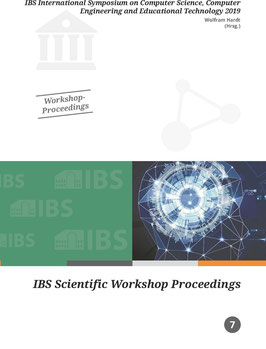 7 - IBS International Symposium on Computer Science, Computer Engineering and Educational Technology 2019