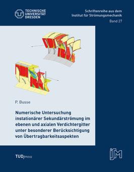 27: Numerische Untersuchung instationärer Sekundärströmung im ebenen und axialen Verdichtergitter unter besonderer Berücksichtigung von Übertragbarkeitsaspekten