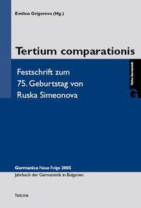 3 - Tertium comparationis
