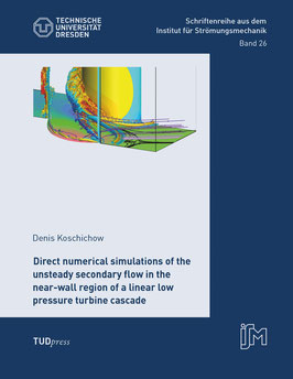 26 - Direct numerical simulations of the unsteady secondary flow in the near-wall region of a linear low pressure turbine cascade