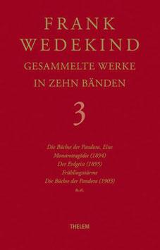 Wedekind: Lulu-Dramen. Gesammelte Werke, Bd. 3