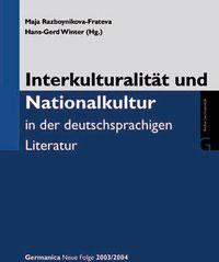 2- Interkulturalität und Nationalkultur in der deutschsprachigen Literatur
