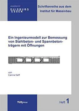 1: Ein Ingenieurmodell zur Bemessung von Stahlbeton- und Spannbetonträgern mit Öffnungen