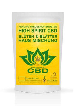 High Spirit Hanf - Hausmischung  - Blüten & Blätter - 50g
