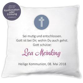 "Personalisiertes Kissen ""Gott schütze + Namen"""