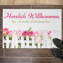 """Fußmatte """"Herzlich Willkommen"""""""