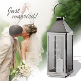 Romantische Hochzeitslaterne