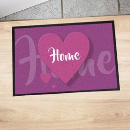"""Fußmatte """"Home"""""""