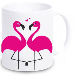 "Tasse ""Flamingo Love"""