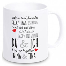 """Tasse """"Meine beste Freundin"""""""
