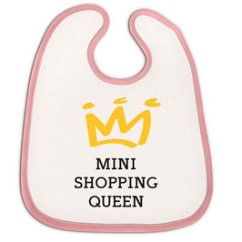 "Babylätzchen ""Mini Shopping Queen"""