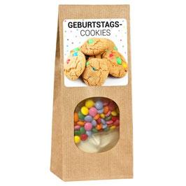 Backmischung für leckere Geburtstags-cookies