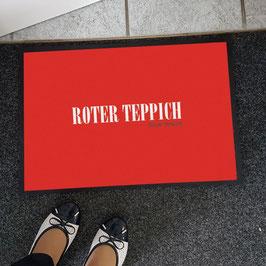 """Fußmatte """"Roter Teppich (kurze Version)"""""""