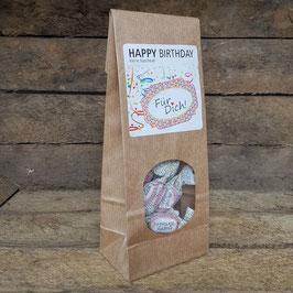 Fruchtige Happy Birthday Bonbons