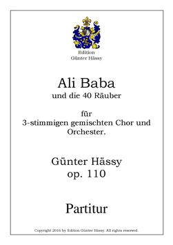 Ali Baba und die vierzig Räuber, op. 110