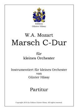 W.A. Mozart KV 408-1 - Marsch in C-Dur, Günter Hässy
