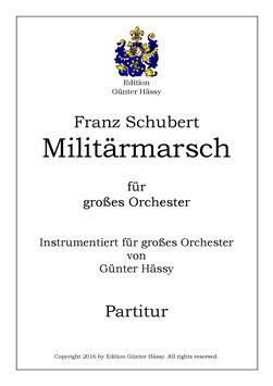 Militärmarsch, Franz Schubert, bearb. Günter Hässy