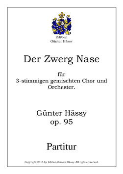 Der Zwerg Nase, op. 95