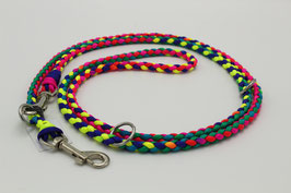 Leine aus Paracord in rainbow