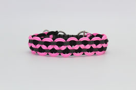 Zugstopp Halsband in rosa