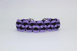 Zugstopp Halsband in lila