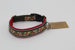 Halsband mit Webband und Reflektoren