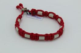 EM-Keramik Halsband in rot