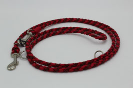 Leine aus Paracord in rot