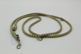 Leine aus Paracord in beige