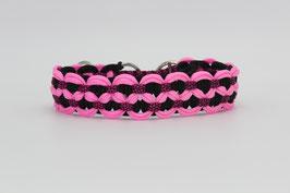 Zugstopp Halsband in pink