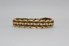 Halsband mit Clickverschluss in beige