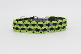 Zugstopp Halsband in grün