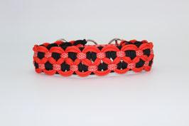Zugstopp Halsband in rot