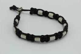 EM-Keramik Halsband in braun
