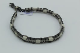 EM-Keramik Halsband in grau