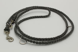 Leine aus Paracord in grau