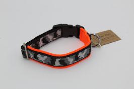 Halsband mit Mustergurtband