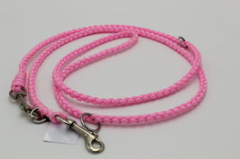 Leine aus Paracord in rosa