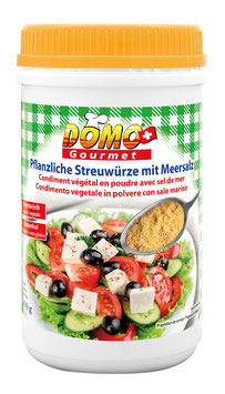 Condimento vegetale in polvere con sale marino