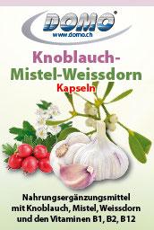 Knoblauch-Mistel-Weissdorn Kapseln