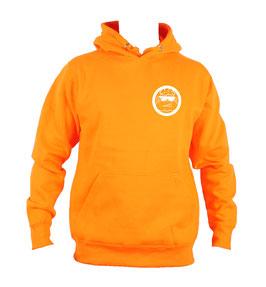 HOODIE Orange VERTICAL