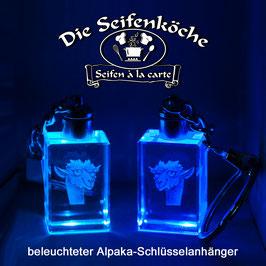 """""""Happy Alpaka"""" - Schlüsselanhänger"""