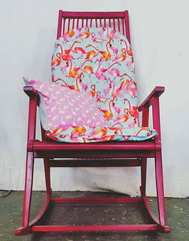 Der Flamingo-Schaukelstuhl!