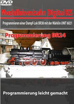 Programmieren einer Dampf-Lok BR38 mit der Märklin UNIT 6021