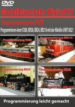 Programmieren einer V200, BR38, BR24, BR216 mit der Märklin UNIT 6021