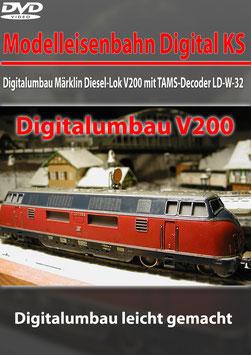 Digitalumbau  Märklin Diesel-Lok V200 (DVD)