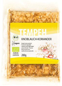 4x Tempeh Knoblauch-Koriander (200g)