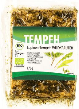 4x Lupinen-Tempeh Wildkräuter (170g)