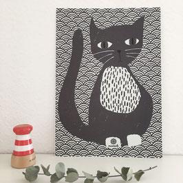 Katze Trixi.